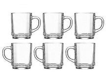 Unbreakable Tempered MAXIM GLASSWARE  MC-254T  6 Pcs Glass Cup / Mug Set