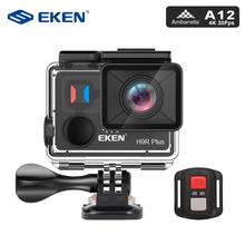 EKEN H9R Plus Action Camera 4K Ultra HD 30FPS WiFi 2.0″ 170D Go Underwater Waterproof Pro Helmet Cam Camera Remote Sport Camera