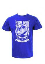 Wosa -Strom Inside printed T-shirt Blue Printed T-shirt For Men