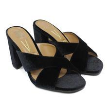 Vizzano Black Heel Sandal For Women-6304.108