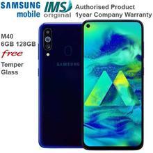 "Samsung Galaxy M40 6GB Ram 128GB Rom, 32+8+5MP Rear , 16mp Selfie Camera, 6.3"", 3500mAh Battery"
