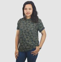 Lugaz Round Neck Printed T-shirt