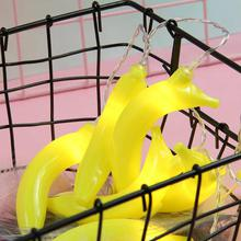 Cute LED Decorative Light Cartoon Banana Lighting Strip For Bedroom Living Room