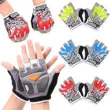 Bicycle gel half gloves