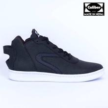 Caliber Shoes Black Casual Lace Up Shoes For Men - ( 535 O )