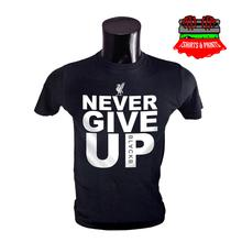 LFC Never Give Up Black T-Shirt for Men