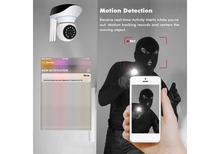 2 MP 1080P Wireless Wifi Smart IP Camera Home Security Surveillance System CCTV Cam Baby Monitor Motion Detection IR Night Light 3 Antennas with RJ45 Network Port