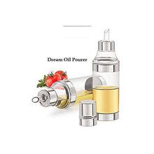 Dream Oil Dispenser Or Oil Pourer, Cane, Container Stainless Steel And Acrylic- 500ml