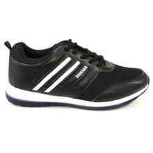 Shikhar Shoes Black Mesh/Fiber Sports Shoes For Men - S003