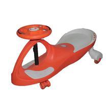 Orange White Plasma Car For Kids