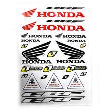 Decals (stickers) - Honda (White)