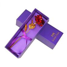 Gold Plated Rose 24K Flower Valentine's Day, Mothers Day, Girlfriend Gift, Home Decor