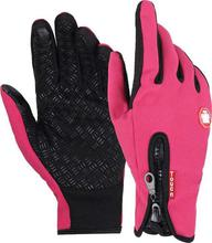 Winter Touch Screen Windproof Thermal Gloves for Men Women Camping Cycling,Motorcycle Bike