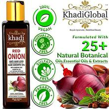 Khadi Global Red Onion Hair Oil for Hair Growth with