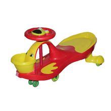 Red Yellow Plasma Car For Kids