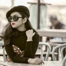Black Lens Retro Steampunk Sunglass For Women