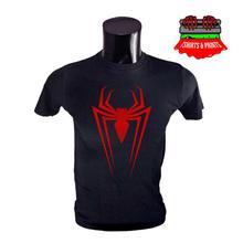 Spiderman Logo Printed T-Shirt for Men