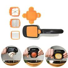 Boverty™ Stailness Steel & Plastic Vegetables Quick Cutter