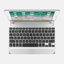 "Brydge 9.7 Bluetooth Keyboard for iPad Air 1/2, Pro 9.7"" & 2017/2018 iPad Silver)"