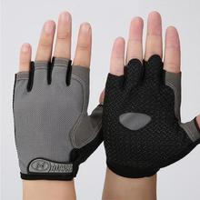 Hot sale Bicycle Riding Men Women Outdoor Climbing Half Finger Gloves Cycling Gloves Summer Sports Fitness Shockproof Bike Glove