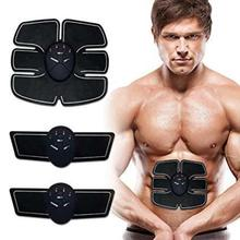 Smart Fitness Training Battery Operated Portable Gym Fat Burning Six Pack EMS Muscle Trainer