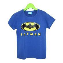 Blue Batman Printed T-Shirt For Boys