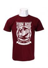 Wosa -Strom Inside printed T-shirt Maroon Printed T-shirt For Men