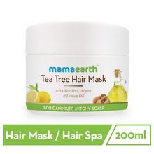 Mamaearth Tea Tree Anti Dandruff Hair Mask, 200ml