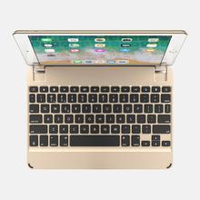 "Brydge 9.7 Bluetooth Keyboard for iPad Air 1/2, Pro 9.7"" & 2017/2018 iPad Gold)"