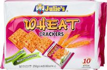 Julies Wheat Crackers Biscuit, 250G