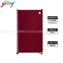 Godrej Refrigerator 99 Ltr - RDCHAMP114WRF1.2-WINE RED
