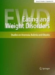 Journal of Eating and Weight Disorders – Studies on Anorexia, Bulimia and Obesity – December 03, 2020