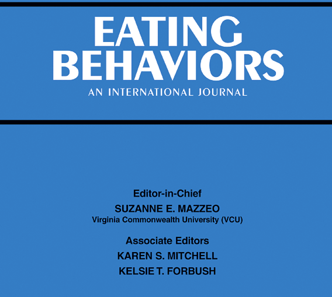 Eating Behaviors Publication - March 27, 2020