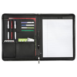 Metropolitan Zippered Padfolio-1