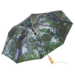 "46"" Forest Auto Open Folding Umbrella-1"