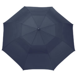 "56"" Auto Open Folding Umbrella w/ wood handle-1"