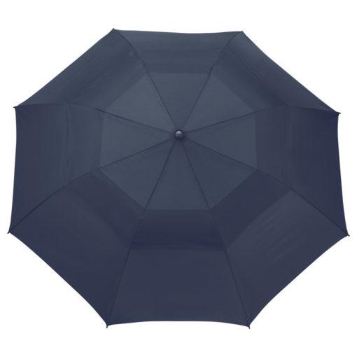 "56"" Auto Open Folding Umbrella w/ wood handle-1"