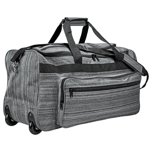 Heathered Rolling Duffel-1