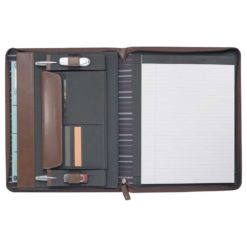 Cutter & Buck® Legacy Zippered Padfolio-1