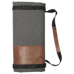 Alternative Roll Up Blanket with Carrying Straps