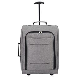 "Graphite 20"" Upright Luggage"