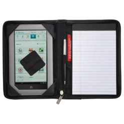 Millennium Leather Jr. Zippered Padfolio-1