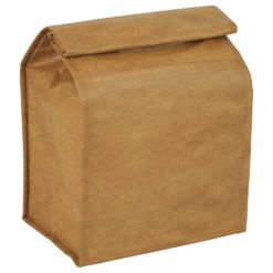 Brown Paper Bag 6-Can Lunch Cooler-1