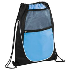 Locker Mesh Pocket Drawstring Bag-1