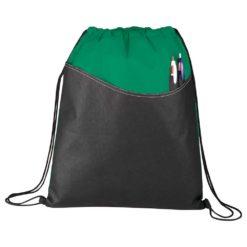 Rivers Non-Woven Drawstring Bag
