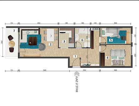 2 tip nekretnine - 55 m² - Mirijevski konaci