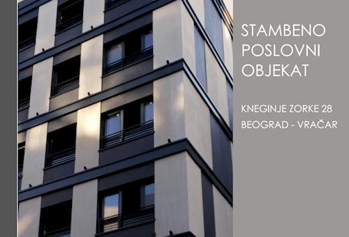 STAMBENO POSLOVNI OBJEKAT KNEGINJE ZORKE 28  - Izgled zgrade - Photo №3