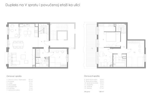 4 tip nekretnine - 128 m² - STAMBENO POSLOVNI OBJEKAT KNEGINJE ZORKE 28
