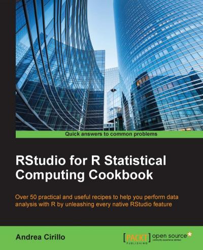 RStudio for R Statistical Computing Cookbook   BUKU
