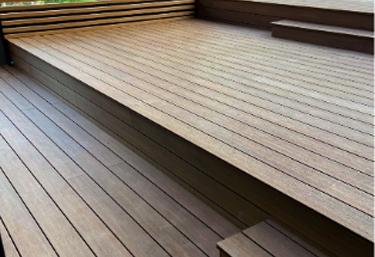 บริการติดตั้งพื้นไม้สังเคราะห์เกรดพรีเมี่ยม SCI Wood